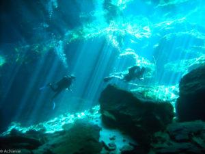 Playa del Carmen, Mexico - Scuba diving cenotes
