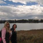 Yellowstone National Park, Wyoming, USA - Yellowstone Lake - Storm Point Trail