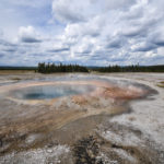 Yellowstone National Park, Wyoming, USA - Norris Geyser - Back Basin Loop Trail