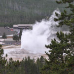 Yellowstone National Park, Wyoming, USA - Norris Geyser - Old Faithful