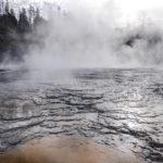 Yellowstone National Park, Wyoming, USA - Norris Geyser - Upper Geyser Basin
