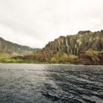 Kauai, Hawaii, USA - Na Pali Coast State Park - Sunset cruise